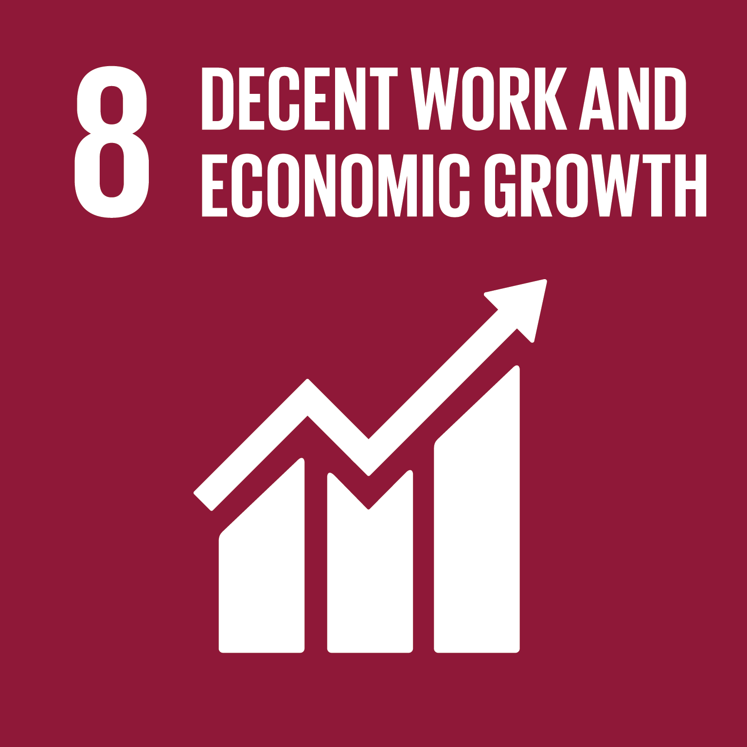 SDG 8 Decent work and economic growth