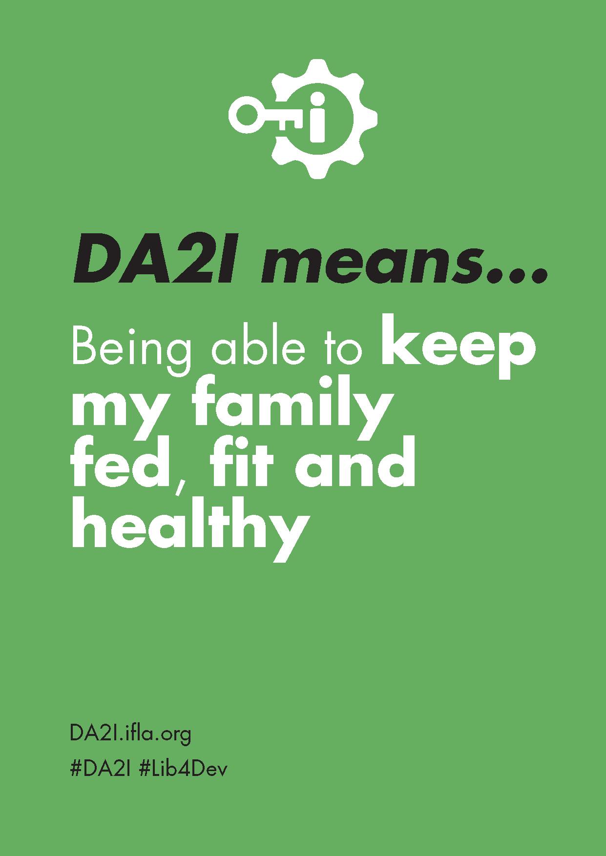 DA2I Postcard SDG 3