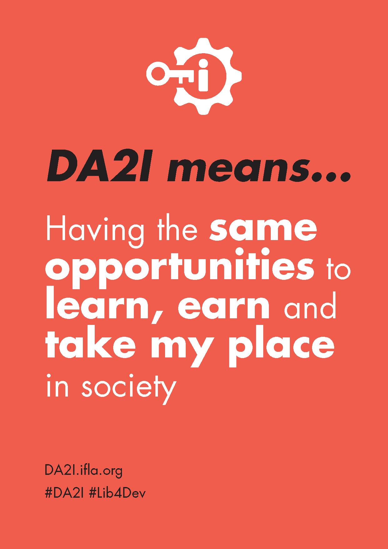 DA2I Postcard SDG 5